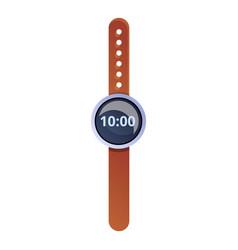 Travel handwatch icon cartoon style vector