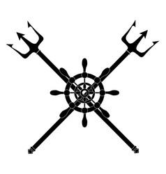 Trident devil fork vector