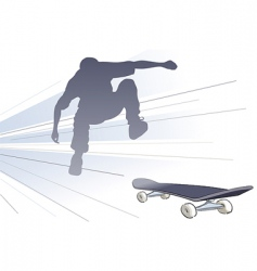 Vector skateboarder vector