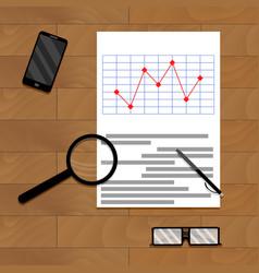 Paper report analytics vector