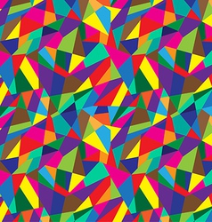 Abstract geometric colorful pattern background vector image