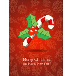 Christmas and New Year 2 vector image vector image