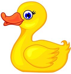 Rubber Duck vector image vector image