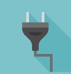 plug icon vector image vector image