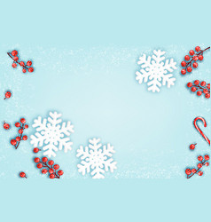 abstract holiday christmas background vector image