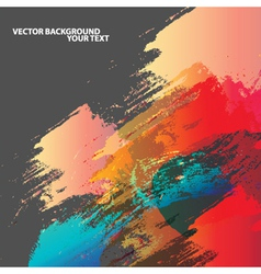 Abstract Paint Background vector