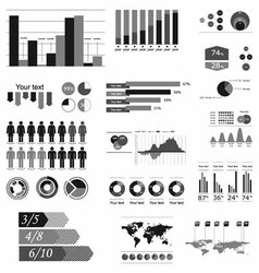 component infographics vector image
