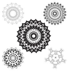Creative design elements and ornaments vector