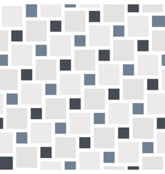 grey tiles seamless pattern vector image