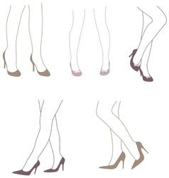 Legs 2 vector image
