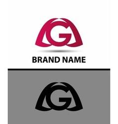 Letter g logo Alphabet logotype design vector