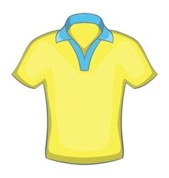 Mens polo icon cartoon style vector image