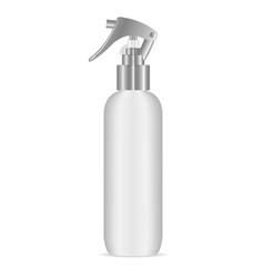 Spray bottle with pistol sprayer head for cosmetic vector