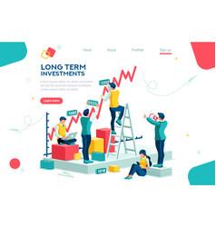 Success growth concept vector