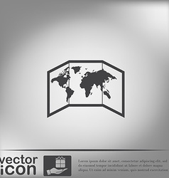 World map-countries vector image