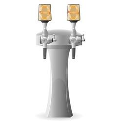 beer equipment 01 vector image
