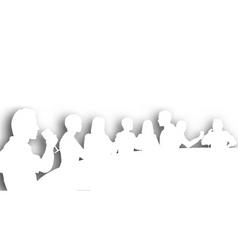 Wine bar cutout vector