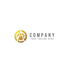 Amazing company logo template design vector