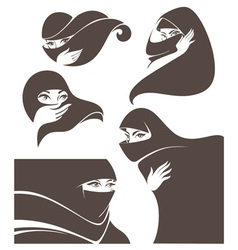 Arabic beauty vector