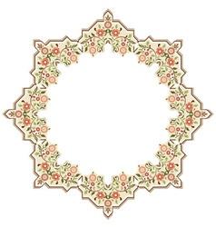 Circular islamic background two vector