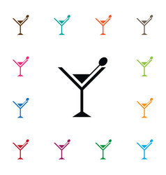 isolated party icon juice element can be vector image