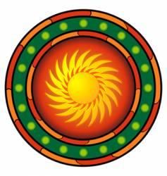 mexican logo vector image