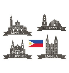 Philippines vector image
