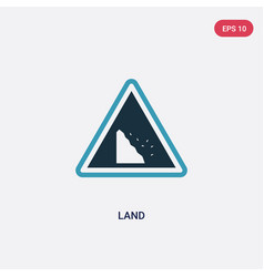 Two color land icon from web concept isolated vector