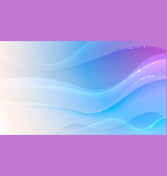 wavy pink and blue soft background vector image