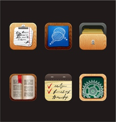 Web icon app vector