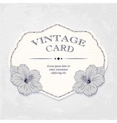 Elegant wedding invitation design Greeting Card vector image