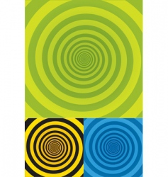 spiral background texture vector image vector image