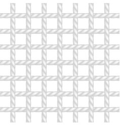 Net of rope in white design vector