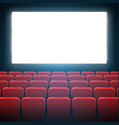 creative of movie cinema vector image