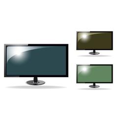 Cute tv hd vector image