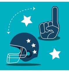 American football game sport vector