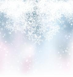 Blue Winter Backdrop vector image