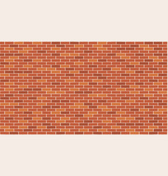 brick wall seamless pattern background vector image