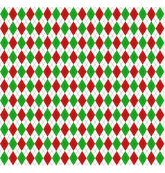 Christmas new year argyle pattern scottish cage vector