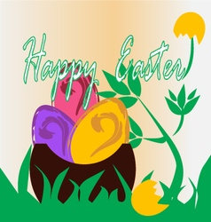 Easter-Eggs vector