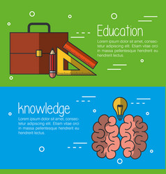 Education related design vector