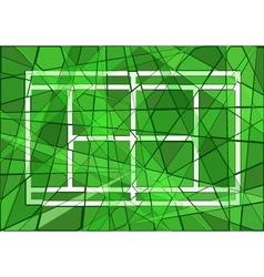 Grass court vector