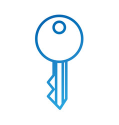 key access security symbol for your web site vector image