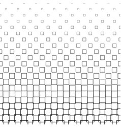 Monochrome square pattern - background vector