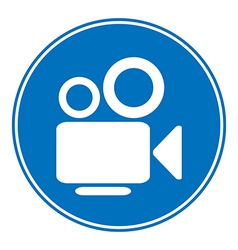 Video camera allowing sign vector