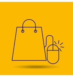 electronic commerce design vector image