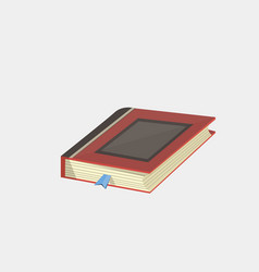 books icon in flat design style isolated vector image