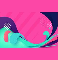Abstract colorful banner backgrounds vector