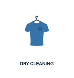 dry cleaning icon creative two colors design from vector image