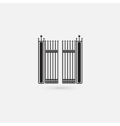 Gate icon vector